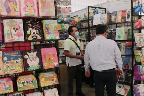 Embedded thumbnail for UN MINUTO DE LA FIL - Arranca la Feria Internacional del Libro UABC