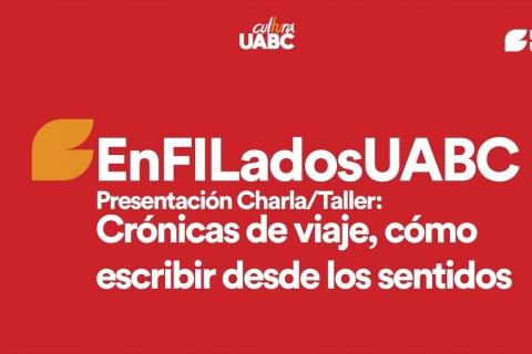 """Embedded thumbnail for EnFILados - Taller """"Crónicas de un viaje, cómo escribir desde los sentidos"""""""