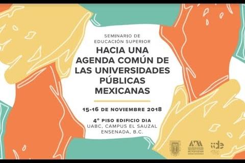 Embedded thumbnail for Seminario de Educación Superior: Hacia una agenda común de las universidades públicas mexicanas
