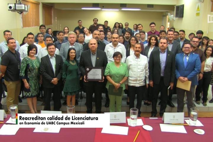 Embedded thumbnail for Reacreditan calidad de Licenciatura en Economía de UABC Campus Mexicali