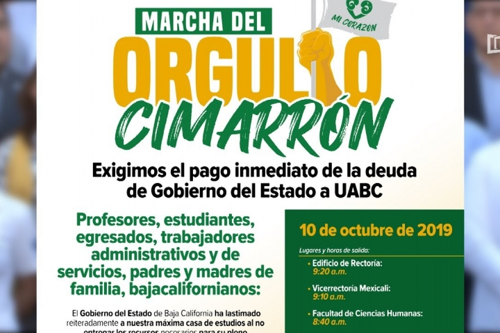 Embedded thumbnail for Convoca UABC a Marcha del Orgullo Cimarrón