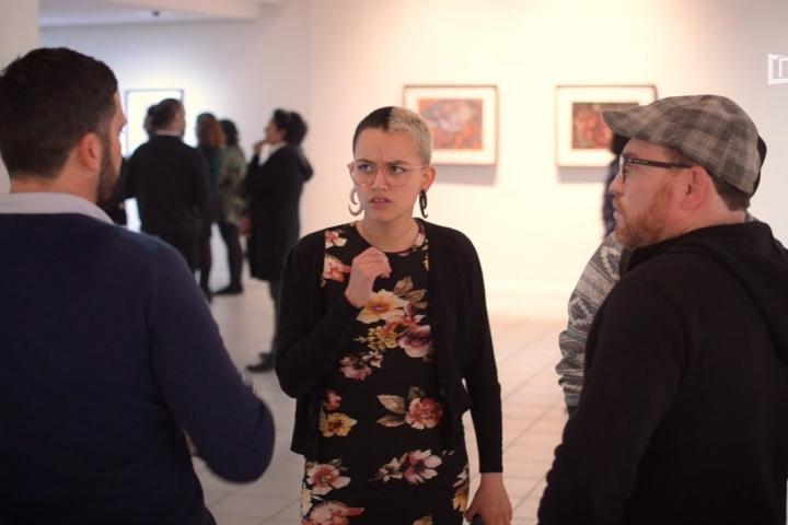 """Embedded thumbnail for Exposición de Arte """"Rutas"""""""