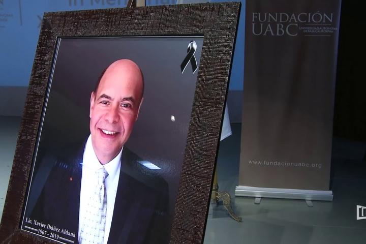 Embedded thumbnail for Ofrece Fundación UABC homenaje In Memoriam a Xavier Ibáñez Aldana