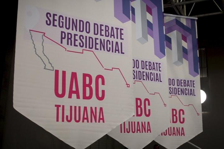 Embedded thumbnail for UABC Sede del Segundo Debate Presidencial