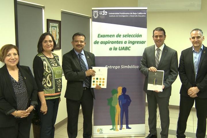 Embedded thumbnail for Entrega IIDE Examen de ingreso a la UABC