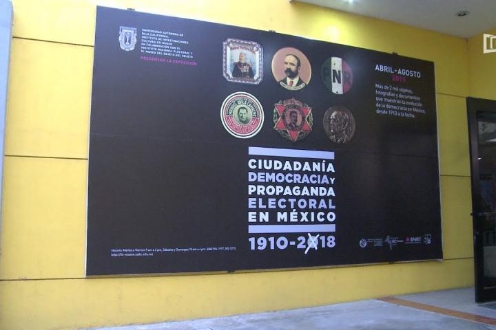 Embedded thumbnail for Exponen en IIC-Museo el proceso de la democracia en México