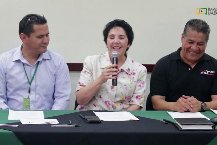 Embedded thumbnail for Firma de convenio entre Facultad de Deportes y CBTIS No. 41, Campus Ensenada