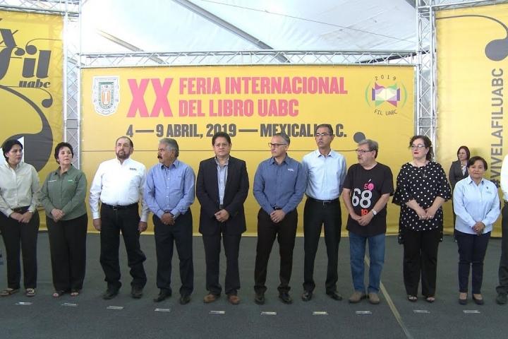 Embedded thumbnail for Ya inició la XX Feria Internacional del Libro de la UABC