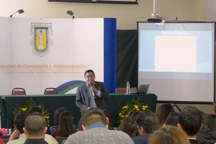 Embedded thumbnail for Simposio de Investigación de Mercado FCA Campus Tijuana