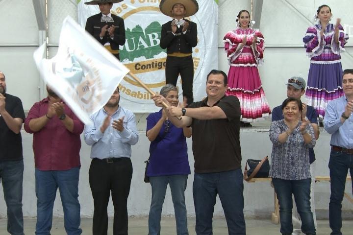 """Embedded thumbnail for Brigada Universitaria """"UABC Contigo"""" en Ciudad Morelos"""