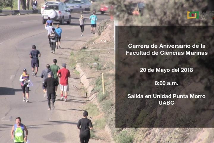 Embedded thumbnail for Agenda - Carrera de Aniversario de la Facultad de Ciencias Marinas