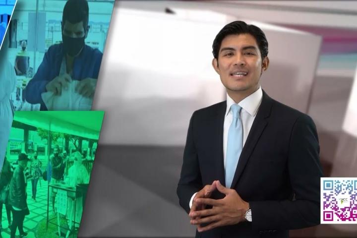 Embedded thumbnail for Noticiero NCC Edición Salud -  13 al 19 de septiembre 2021