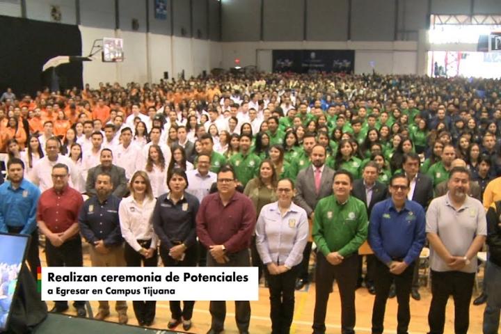 Embedded thumbnail for Realizan ceremonia de Potenciales a Egresar en Campus Tijuana