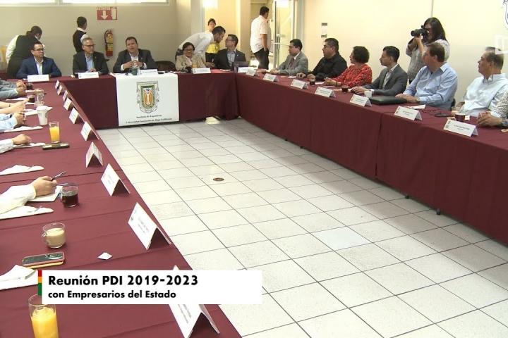 Embedded thumbnail for Reunión PDI 2019-2023 con Empresarios del Estado
